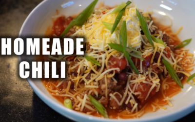 Homeade Chili Recipe | All About The Beef